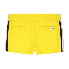 Nik en Nik sweat short korte broek Fidda short in de kleur sunny yellow geel