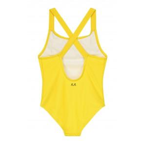 Nik en Nik badpak Yvonne bathing suit in de kleur sunny yellow geel