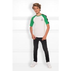 Nik en Nik Mardel t-shirt in de kleur grass green groen