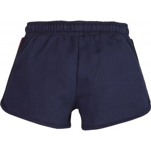 Tommy Hilfiger sweat broek shorts knitted tape in de kleur navy blue donkerblauw