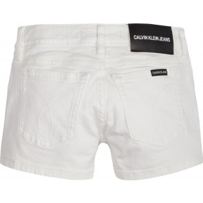 Calvin Klein short broek straight fit in de kleur wit