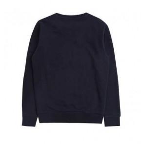 Lyle & Scott sweater trui met groot logo in de kleur donkerblauw