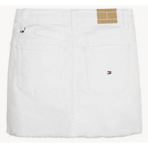 Tommy Hilfiger mini spijkerrok in de kleur wit