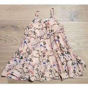Smile today jurk met bloemenprint in de kleur zachtroze