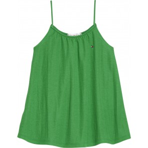 Tommy Hilfiger kids girls hemd/ top in de kleur grasgroen