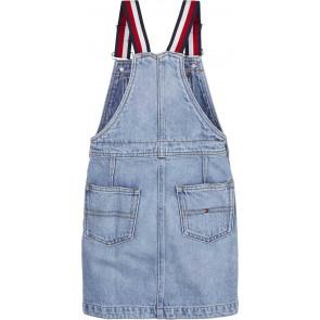 Tommy Hilfiger spijkerjurk in de kleur jeansblauw