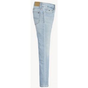 Tommy Hilfiger kids girls jeansbroek Nora skinny fit in lichte jeans wassing