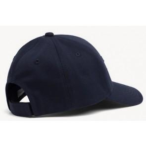 Tommy Hilfiger cap pet met flag logo in de kleur donkerblauw