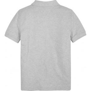 Tommy Hilfiger kids boys chevron flag polo shirt in de kleur grijs