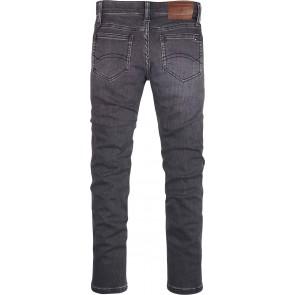 Tommy Hilfiger kids boys jeansbroek simon skinny stretch in de kleur antraciet grijs