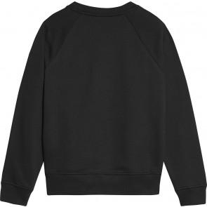 Calvin Klein kids boys flag embroidered sweater trui in de kleur zwart