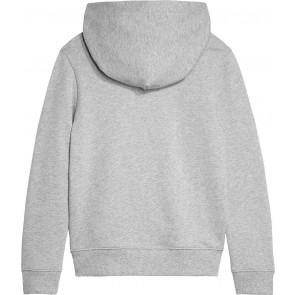 Calvin Klein kids boys monogram terry hoodie sweater trui in de kleur grijs