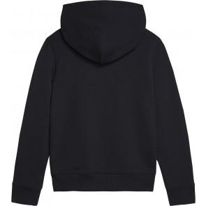 Calvin Klein kids boys monogram terry hoodie sweater trui in de kleur zwart