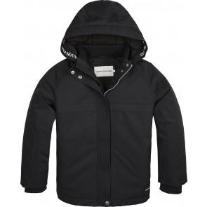 Calvin Klein kids girls back to school jacket parka jas in de kleur zwart