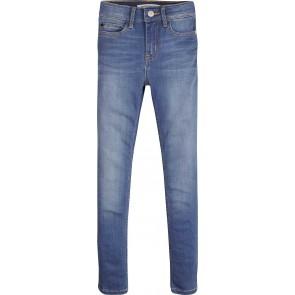 Calvin Klein kids girls skinny jeans strong light in de kleur jeansblauw