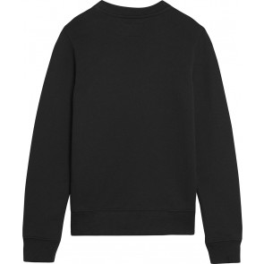 Calvin Klein kids girls monogram terry sweater trui in de kleur zwart