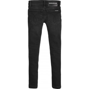 Calvin Klein Jeans girls skinny jeansbroek in de kleur zwart