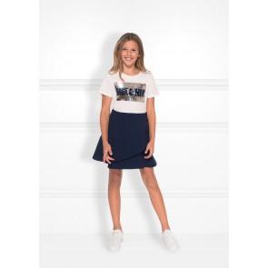 NIK en NIK N&N sequins t-shirt in de kleur off-white