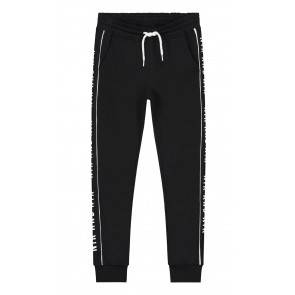 NIK en NIK Freddie pants sweatpants broek met logobies in de kleur zwart