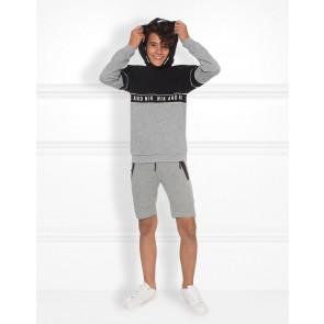 NIK en NIK Fisher sweatpants korte broek in de kleur grijs