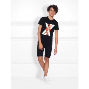 NIK en NIK Maizy t-shirt met logoprint in de kleur zwart