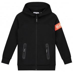 NIK en NIK Murphy jacket vest met oranje logotape in de kleur zwart
