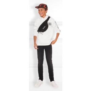 NIK en NIK How we do hoodie trui in de kleur off white