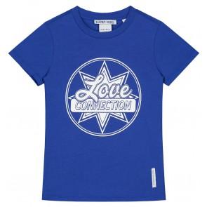NIK en NIK Connection t-shirt in de kleur kobaltblauw