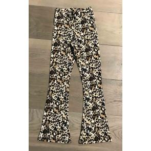 Cars Jeans flair pants broek met panterprint in de kleur bruin