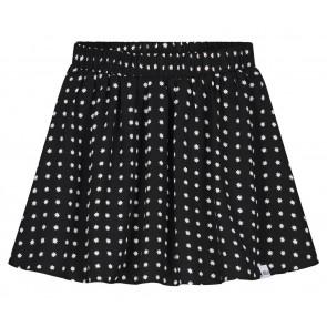 NIK en NIK Cissy Star skirt rok met witte sterrenprint in de kleur zwart