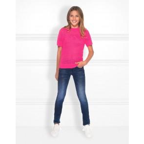 NIK en NIK Ronya pullover trui in de kleur fuchsia roze