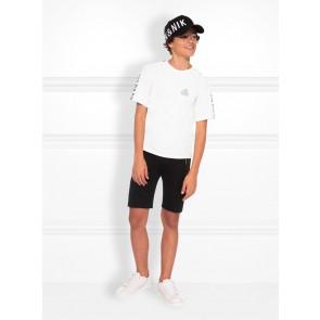 NIK en NIK Milo t-shirt met logotape in de kleur wit