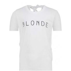 Penn & Ink t-shirt 'Blonde' in de kleur wit