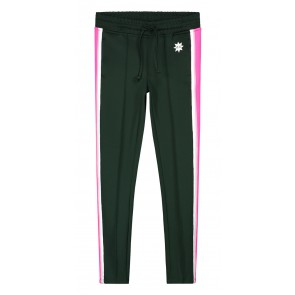 Nik en Nik girls lucky trackpants in de kleur bottle green groen
