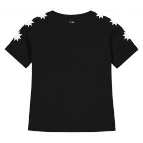 Nik en Nik girls starlucky t-shirt in de kleur black zwart