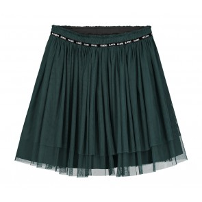 Nik en Nik Iris sporty skirt in de kleur bottle green groen