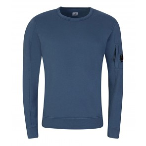 CP Company undersixteen crew neck basic fleece sweater in de kleur blauw