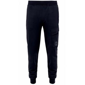 CP Company undersixteen sweatpant basic fleece in de kleur donkerblauw