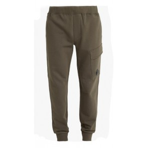 CP Company undersixteen sweatpant basic fleece in de kleur army green