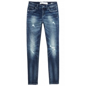 Circle of trust Poppy jeans broek in de kleur cloudy ocean donkerblauw