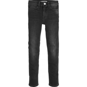 Calvin Klein jeans girls broek skinny rickety in de kleur black stretch zwart