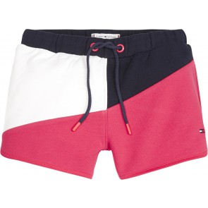 Tommy Hilfiger kids girls color block shorts in de kleur multicolor