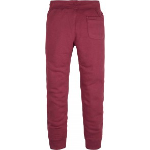 Tommy Hilfiger kids boys essential sweatpants in de kleur bordeaux rood