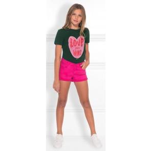 NIK en NIK Love Wins t-shirt in de kleur donkergroen