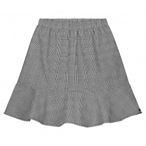 Nik en Nik Cadi check skirt ruiten rok in de kleur grijs