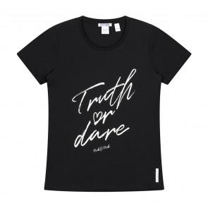 Nik en Nik truth or dare t-shirt in de kleur black zwart