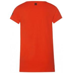 Retour Jeans Jenthel t-shirt met print in de kleur oranje