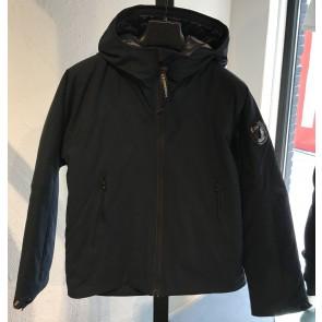 CP Company winterjas in de kleur zwart