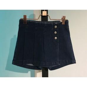 IKKS kids girls skort broekrok met drukkers in de kleur jeansblauw