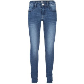 Indian Blue Jeans blue Jill flex skinny fit broek in de kleur medium denim blauw